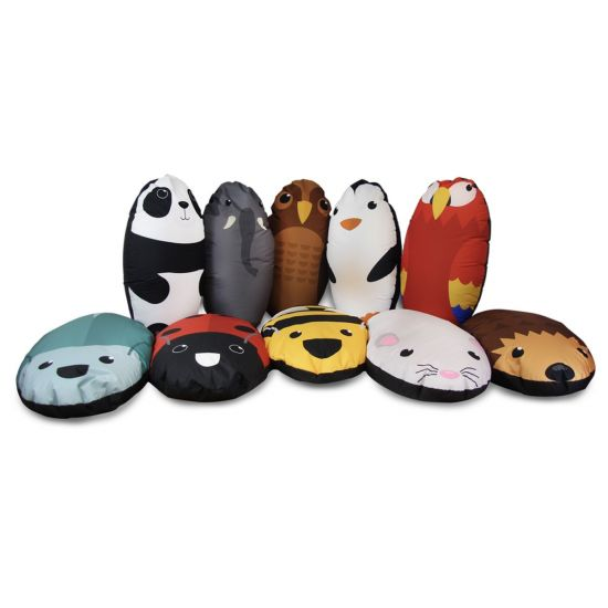 Animal Collection Bean Bags - Pack of 10