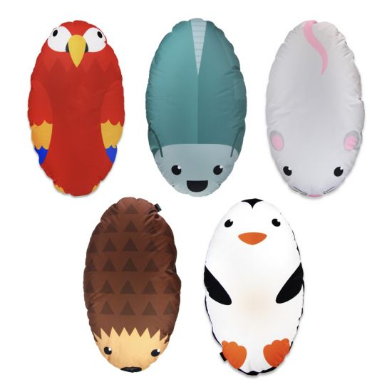 Animal Collection Bean Bags - Pack of 5 (Set 1)