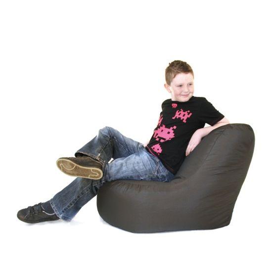 Kids Faux Leather Seat Bean Bag