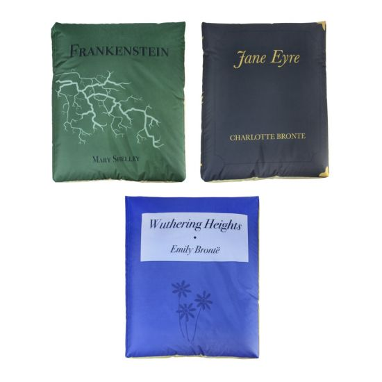Classic Secondary Book Bean Bags - Pack of 3 (Set 2)