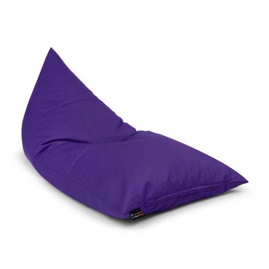 Cotton Deck Chair Bean Bag - Purple
