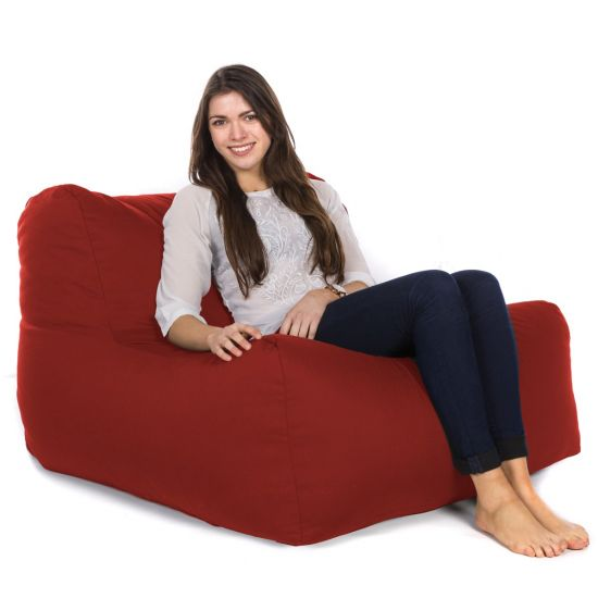 Cotton layZ Bean Bag - Red