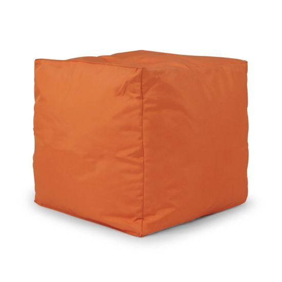 Indoor/Outdoor Cube Bean Bag - Orange