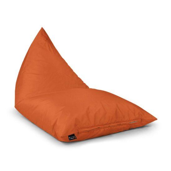 Indoor/Outdoor Deck Chair Bean Bag - Orange