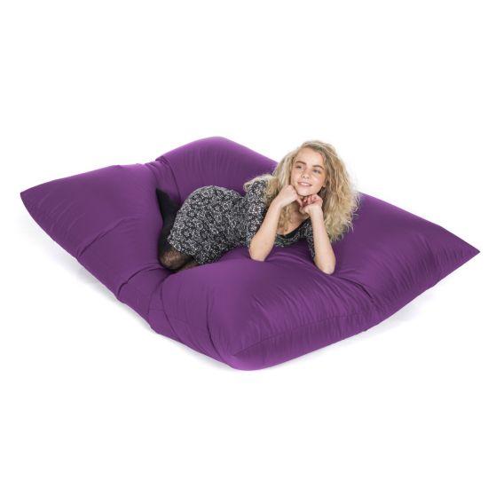 Indoor/Outdoor Slab Bean Bag - Purple