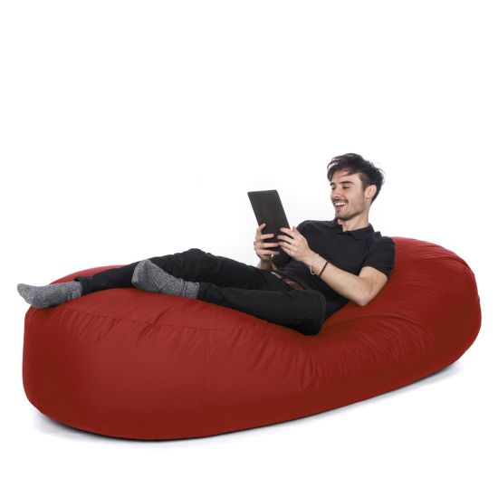 Indoor/Outdoor Sofa Bed Bean Bag - Red