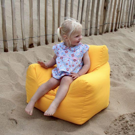 Indoor/Outdoor Kids Armchair Bean Bag