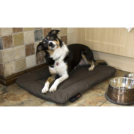 Medium Dog Bed Basket - Olive Green