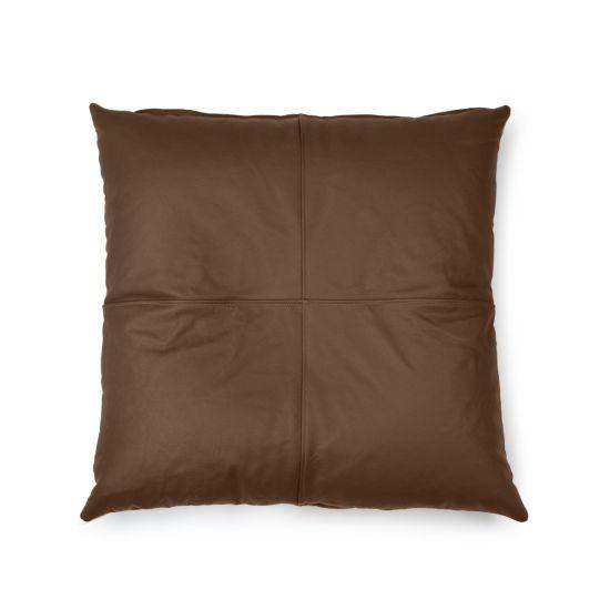 Real Leather Cushion Bean Bag - Thumbnail