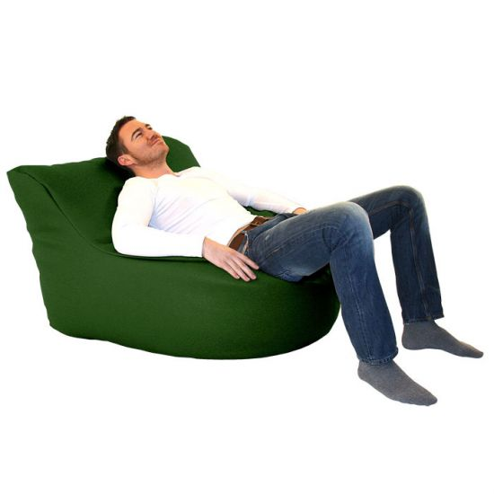 Faux Leather Seat Bean Bag
