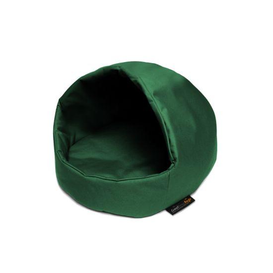 Small Dog Cocoon - Racing Green