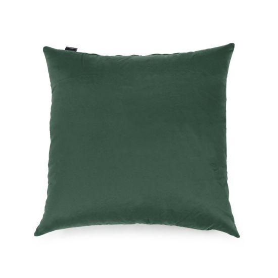 Cotton Cushion Bean Bag - Square - Forest Green, Top