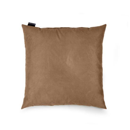 Faux Suede Cushion Bean Bag - Square - Caramel, Top